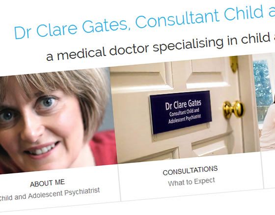 Dr Clare Gates, Child and Adolescent Psychiatrist
