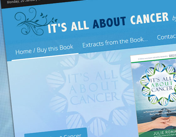 It's All About Cancer by Julie Romani