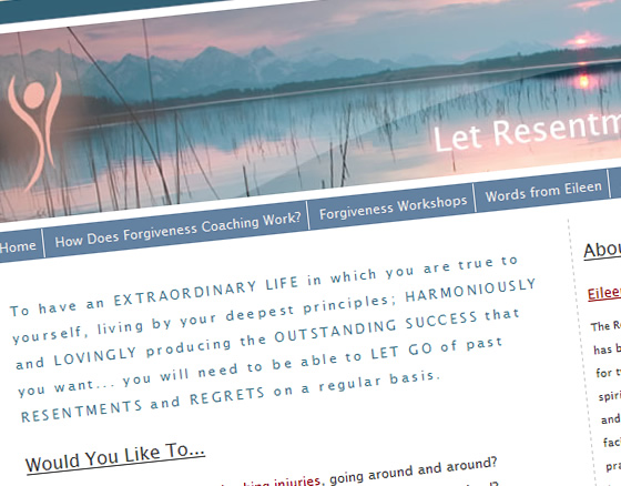 Let Resentments Go Home Page