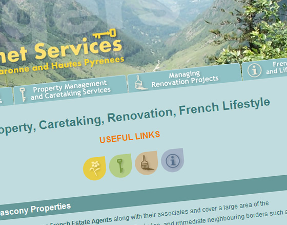 Le Sommet Services Colour Coded Service Icons